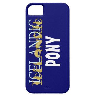 Icelandic flexible alphabet pony iPhone 5 covers