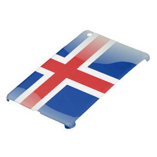 Icelandic glossy flag iPad mini cases