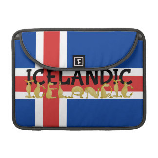 Icelandic Horse | Flag of Iceland Sleeve For MacBooks