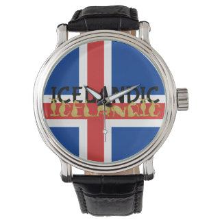 Icelandic Horse Flag Watch