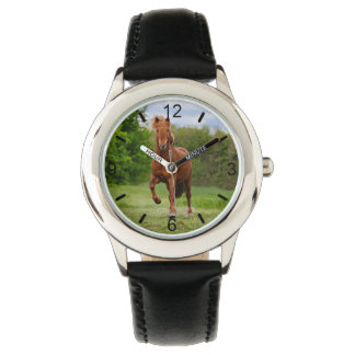 Icelandic Pony Tölt Funny Horse Lovers  dial-plate Watch