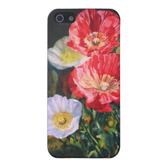 Icelandic Poppies Cover For iPhone 5/5S