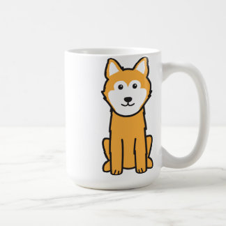 Icelandic Sheepdog Dog Cartoon Coffee Mug