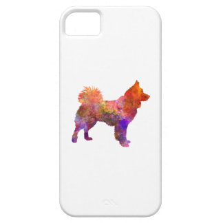 Icelandic Sheepdog in watercolor iPhone 5 Cover