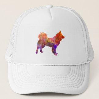 Icelandic Sheepdog in watercolor Trucker Hat