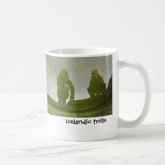 Icelandic trolls coffee mug