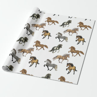 Icelandic's in Gait Wrapping Paper