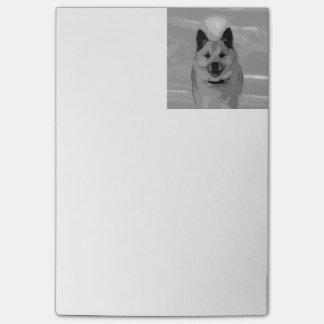 IcelandicSheepdog20151203 Post-it Notes