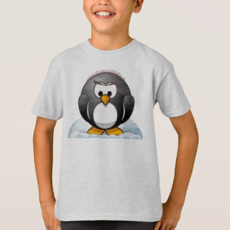 Icey Penguin Cartoon T-Shirt