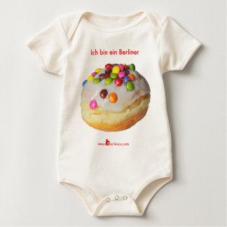 Ich bin ein Berliner Baby Bodysuit