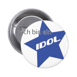 Ich bin ein Idol icon Pins