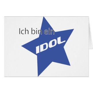 Ich bin ein Idol icon Card