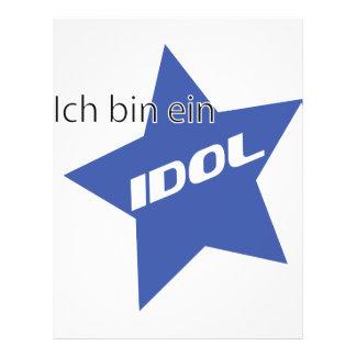 Ich bin ein Idol icon Flyer