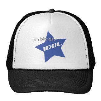 Ich bin ein Idol icon Trucker Hats