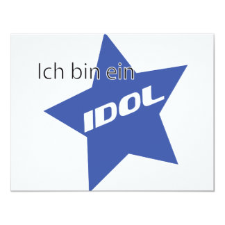 Ich bin ein Idol icon Custom Invite