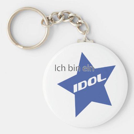 Ich bin ein Idol icon Key Chain