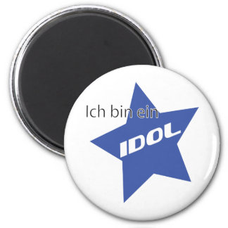 Ich bin ein Idol icon Magnets