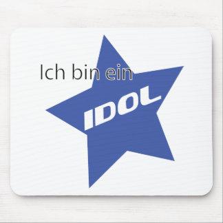 Ich bin ein Idol icon Mouse Pad