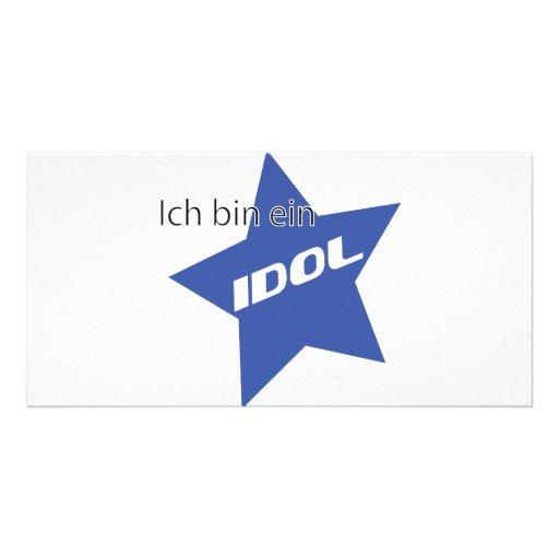 Ich bin ein Idol icon Picture Card