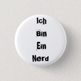 Ich Bin Ein Nerd 3 Cm Round Badge