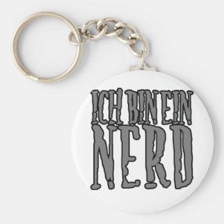 Ich Bin Ein Nerd Keychains