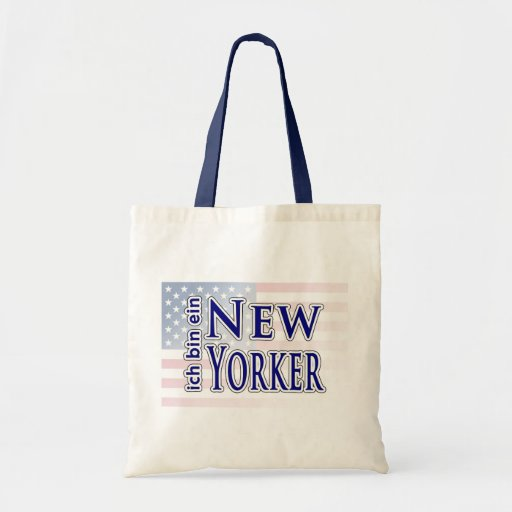 """""""ich bin ein New Yorker"""" Bag"""