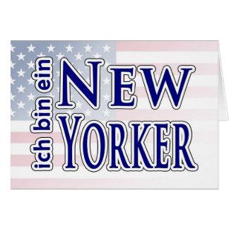 ich bin ein New Yorker Cards