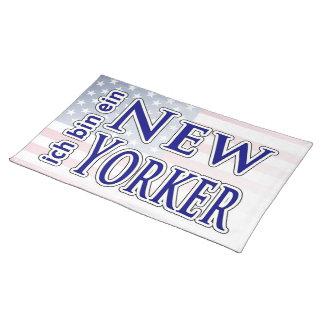 """""""ich bin ein New Yorker"""" Placemat"""