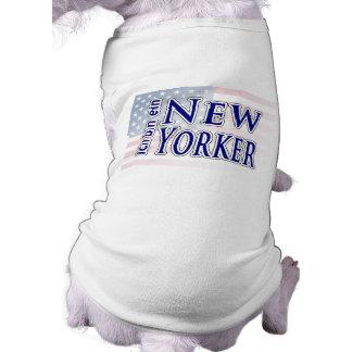 """""""ich bin ein New Yorker"""" Sleeveless Dog Shirt"""