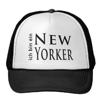 """""""ich bin ein New Yorker"""" Hats"""