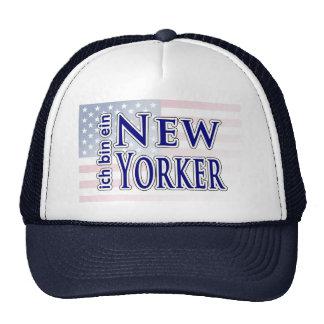 """""""ich bin ein New Yorker"""" Mesh Hats"""