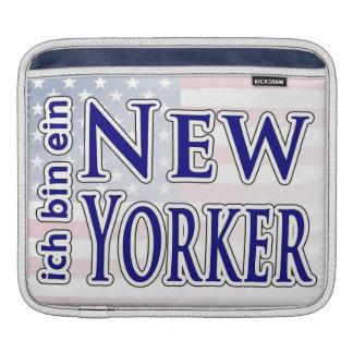 """""""ich bin ein New Yorker"""" Sleeve For iPads"""