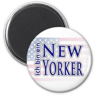 ich bin ein New Yorker Fridge Magnet