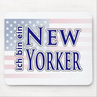 """""""ich bin ein New Yorker"""" Mouse Pad"""