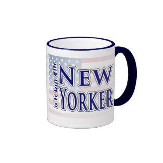 """""""ich bin ein New Yorker"""" Mugs"""