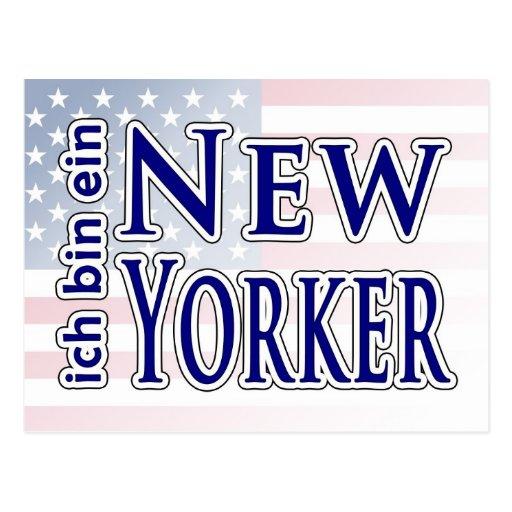 """""""ich bin ein New Yorker"""" Post Cards"""