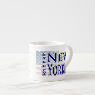 ich bin ein New Yorker Espresso Cups