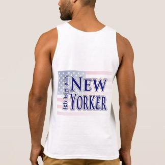 """""""ich bin ein New Yorker"""" Tanktop"""