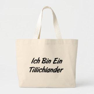 Ich Bin Ein Tillichlander Tote Bag