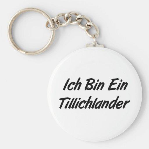 Ich Bin Ein Tillichlander Keychain