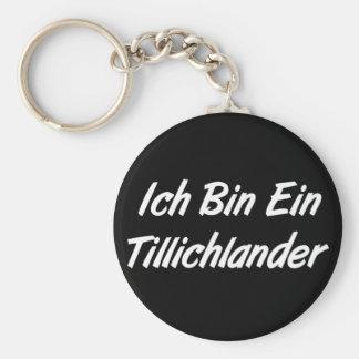 Ich Bin Ein Tillichlander Keychains