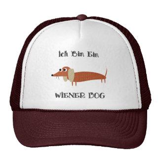 Ich Bin Ein Wiener Dog I Am A Dachshund Trucker Hats