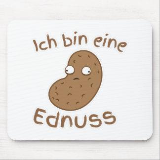 Ich bin eine Erdnuss I'm a peanut GERMAN Mouse Pad
