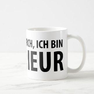 Ich bin Ingenieur icon Coffee Mug
