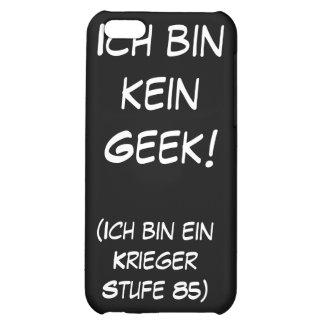 Ich bin kein Geek! iPhone 5C Case