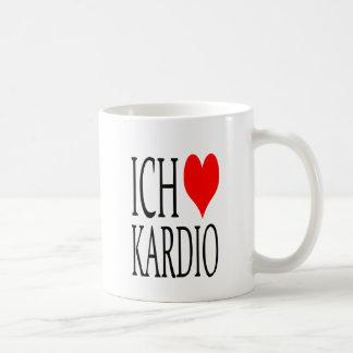 Ich liebe kardio coffee mug