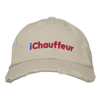 iChauffeur, Customize Me! Embroidered Hat