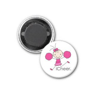iCheer Hot Pink Magnet
