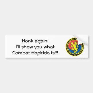 ICHF Bumper Bumper Sticker