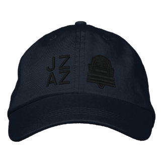Ichibo-Skee Clupkitz Jazz Black on Blue Embroidered Hat